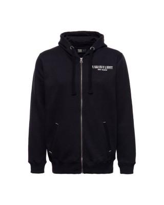 King Kerosin Mexican Rider zip hoodie black