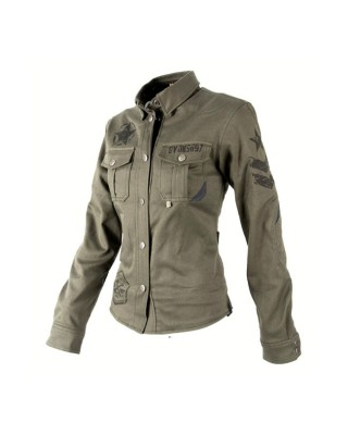 By City SUV overshirt lady green
