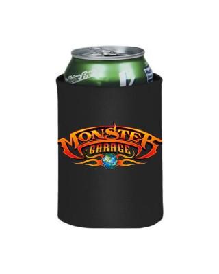 Monster Garage Koozie Can cooler folded