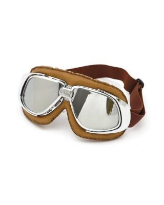bandit - Lunettes Classic Leather - Marron & miroir - BANDIT