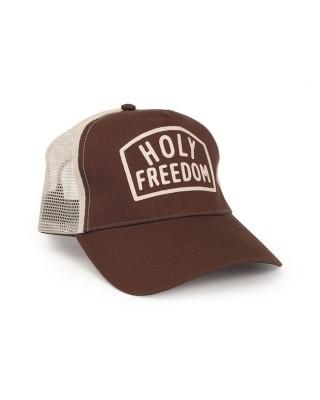 holy freedom - Casquette Trucker Arney - Marron - HOLY FREEDOM