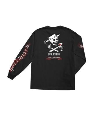 Loser Machine Music Man longsleeve T-shirt black