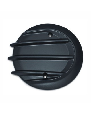 Cache embrayage Tri-Fin, Black, 14-20 Indian (excl. Scouts, FTR, Challenger), KURYAKYN