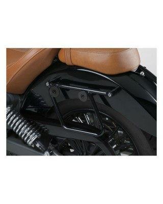 kit de montage de sacoches Cruiseliner, black, 15-19 Indian Scout / 16-19 Scout Sixty, NATIONAL CYCLE