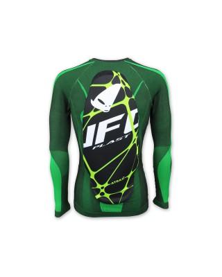 Sous-vêtement UFO Atrax avec protection dorsale vert, UFO