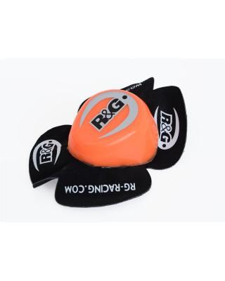 Sliders genou R&G RACING Aero orange, R&G RACING