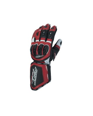 Gants RST Tractech Evo CE cuir rouge homme, RST