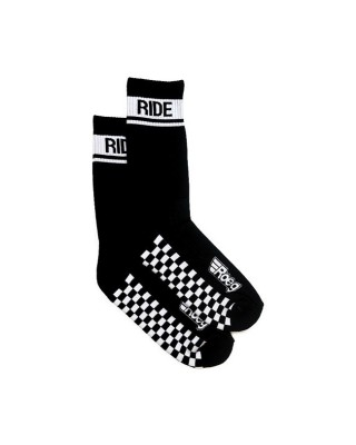 Chaussettes Early finish, black, ROEG