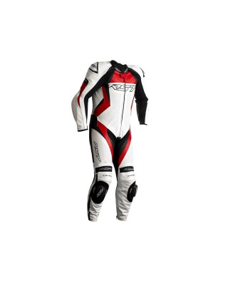 Combinaison RST Tractech EVO 4 CE cuir rouge homme, RST