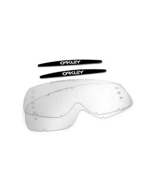 Ecrans de rechange OAKLEY XS O-Frame roll-off transparent, OAKLEY