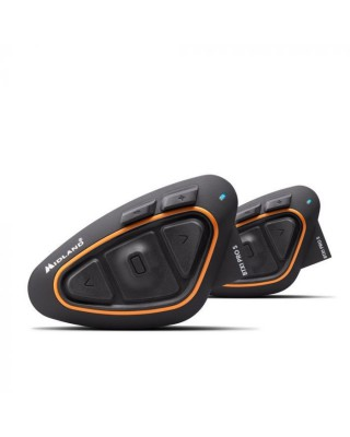 Intercom MIDLAND BTX1 Pro S Twin noir/orange, MIDLAND