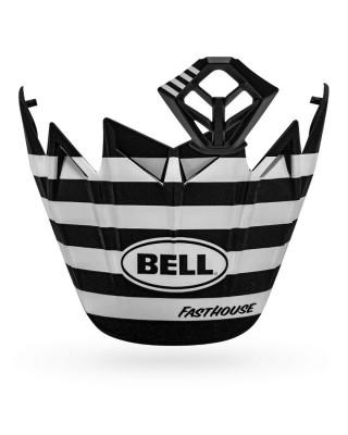 Kit MX BELL Moto-9 Flex Fasthouse Stripes Black/White, BELL