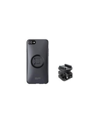 Pack complet SP-CONNECT Moto Bundle fixé sur rétroviseur iPhone 8/7/6/6S, SP CONNECT