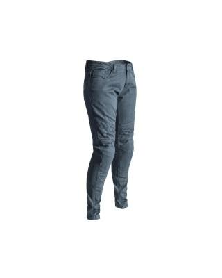 Pantalon RST Aramid CE textile straight leg gris femme, RST