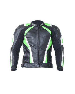 Veste RST Pro Series CPX-C cuir neon green homme, RST