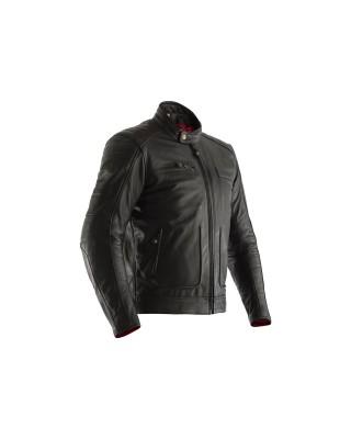 Veste RST Roadster II cuir noir homme, RST