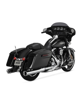 Silencieux Monster Round, Chrome, Touring 95-16, VANCE & HINES