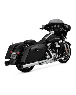 Silencieux Oversized 450 Destroyer, Chrome/Black, Touring 95-16, VANCE & HINES