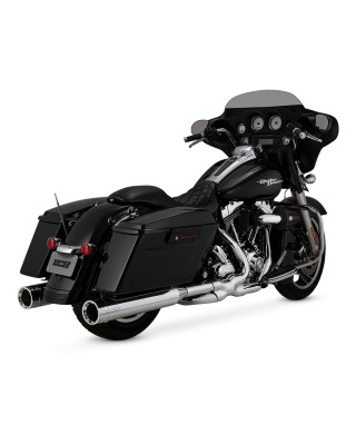 Silencieux Oversized 450 Destroyer, Chrome, Touring 17+, VANCE & HINES