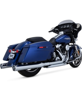 Silencieux Monster Round, Chrome, Touring 17+, VANCE & HINES