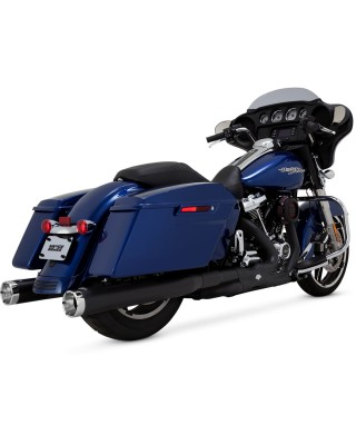 Silencieux Monster Round, Black, Touring 17+, VANCE & HINES
