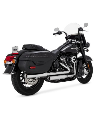 Silencieux Eliminator 300, Chrome, Softail Heritage/Deluxe 18+, VANCE & HINES