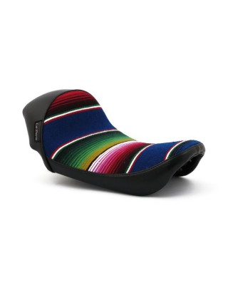 Selle Solo Stubs Cafe, Mex Blanket, 06-17 Dyna, LE PERA