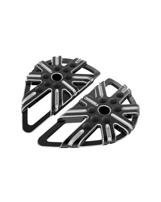 Marche-pieds passager, 10-GAUGE Black, 86-20  ouring / 00-20 Softail / 06-17 Dyna., ARLEN NESS