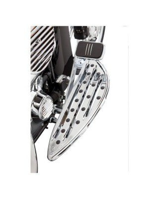 Marche-pieds pilote DEEP CUT CHROME, 86-17 Softail/12-16 Dyna Switchback/83-19 Touring/Trikes, ARLEN NESS
