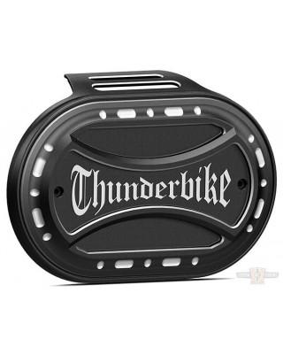 Couvre filtre à air Oval, Torque avec Logo, Thunderbike - HD Milwaukee 8
