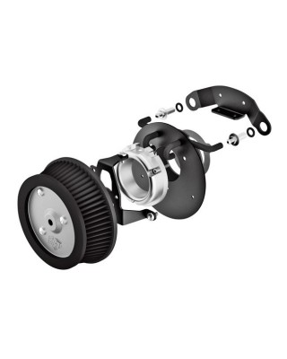 Filtre à air VO2 naked, Softail/Touring/Trike tirage elec., VANCE&HINES