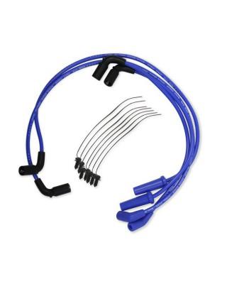 Fils de bougies 8mm S/S Spiral core wire blue, 17-19 Touring, ACCEL