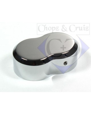 Couvre bielette d'embrayage, SMOOTH CHROME - Chopz&Cruiz