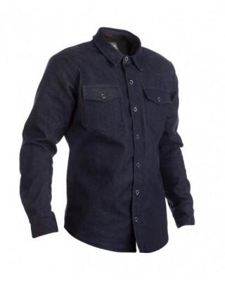 Chemise RST Denim Kevlar® CE textile bleu homme, RST