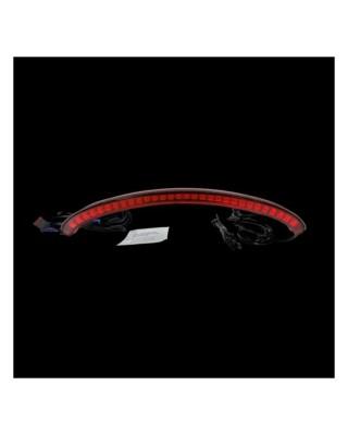 Custom Dynamics, FXFB Fat Bob LED center taillight. Red 18-20 Softail FXFB Fat Bob