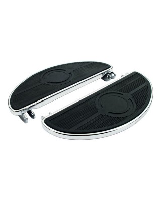 OVAL REPL. PADS, FLOORBOARDS. BLACK 40-84 FL models and others with classic oval floorboards