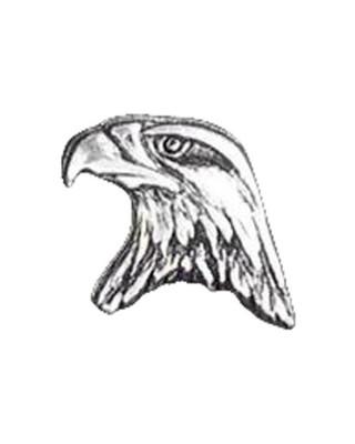 mcs - Pins - Tiny eagle head - Pack de 3 - MCS