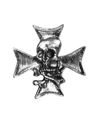 mcs - Pins - Skull n crossbones w/chopper cross - Pack de 3 - MCS