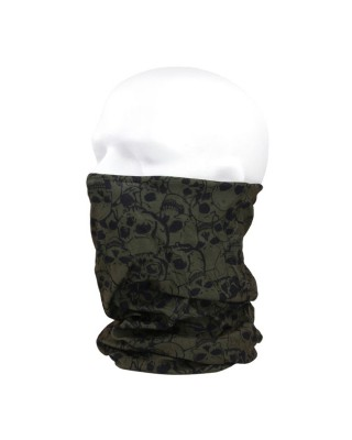 mcs - Coolmax tunnel green with skull - MCS