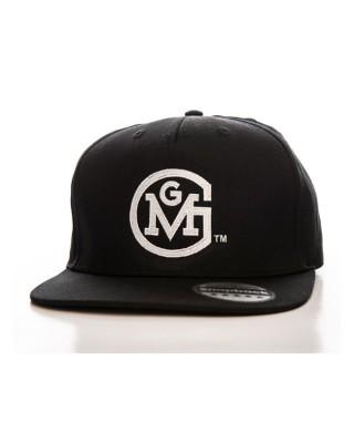 gas monkeys garage - Casquette Snapback Round Logo - Noir - GAS MONKEYS GARAGE