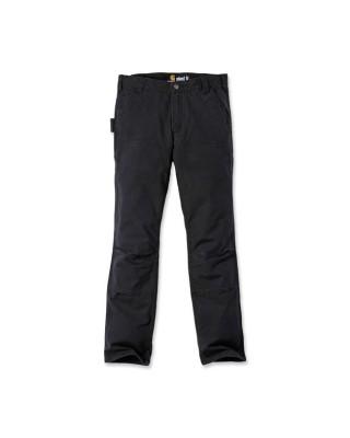 carhartt - Carhartt work pants stretch duck double front black - Carhartt