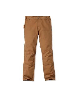 carhartt - Carhartt work pants stretch duck double front Carhartt brown - Carhartt