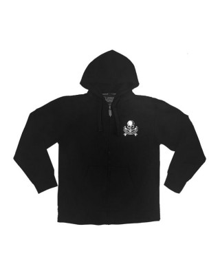 lethal threat - LT The Only Therapy hoodie black - LETHAL THREAT