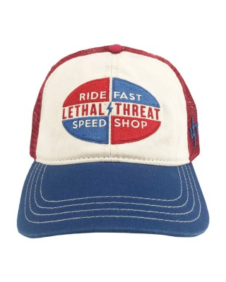lethal threat - LT Speed Shop cap blue/red/white - LETHAL THREAT